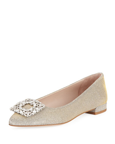 Fetching Ornament Ballerina Flat