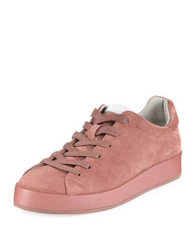 RB1 Low-Top Suede Platform Sneaker
