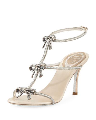 Bow Embellished 80mm Sandal