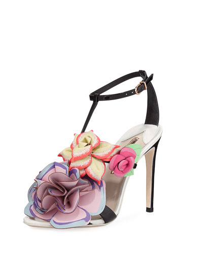 Jumbo Lilico Patent Leather Sandal