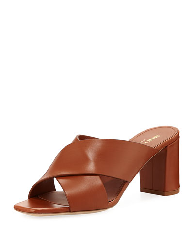 Lou Lou Brushed Slide Sandal