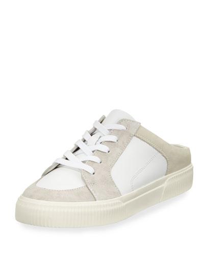 Kess Mixed Leather Mule Sneaker