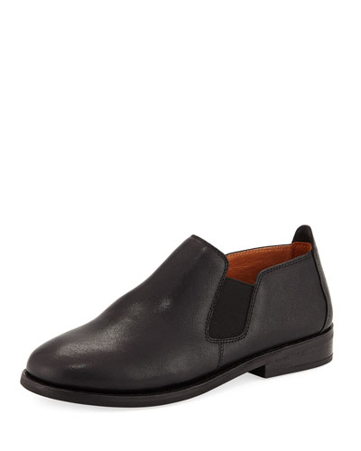 Essex Double Gore Leather Bootie