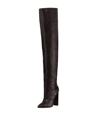 Tanger Design Over-The-Knee Boot