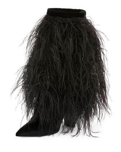 Tanger Feather Calf-High Boot