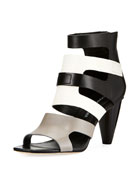 Paula Caged Colorblock Sandal
