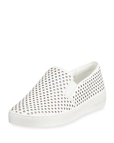 Keaton Perforated Star Sneaker