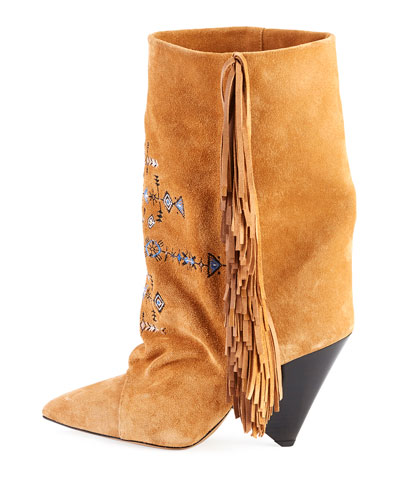 Lesten Santa Fe Embroidered Boot