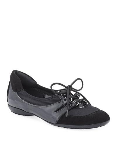 Bonnie Stretch Mixed Sneaker, Black