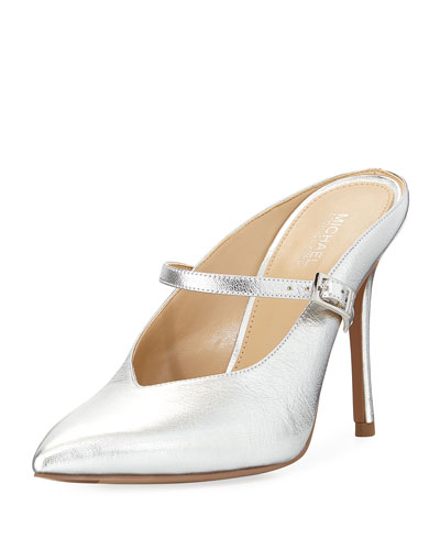Tiegan Metallic Slide Mary Jane