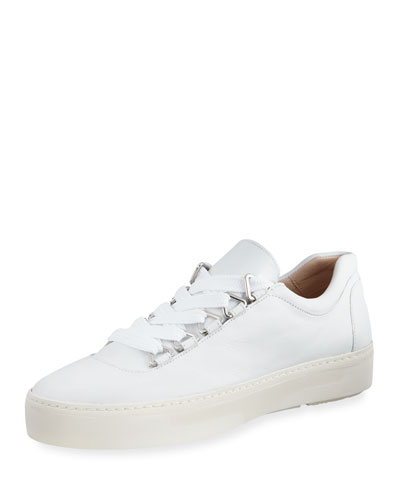 Gaming Lace-Up Napa Leather Sneaker