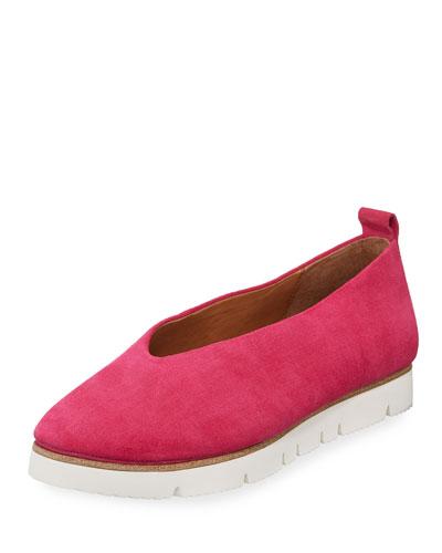 Demi Comfort Suede Slip-On Flat