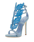 Denim Wing 110mm Sandal