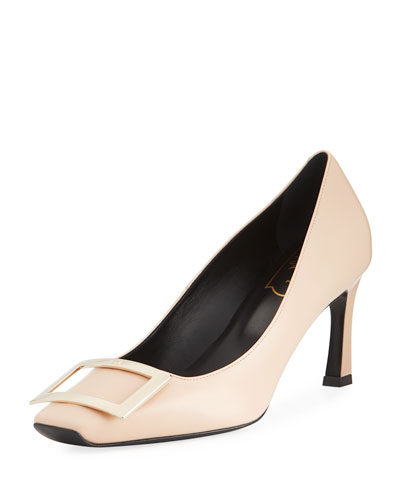Dec. Belle Vivier Trompette Pump