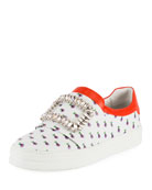 Sneaky Viv Printed Buckle Sneaker