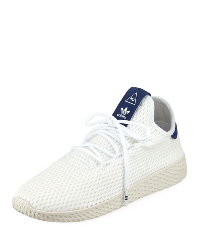 x Pharrell Williams Knit Mesh Tennis Sneaker