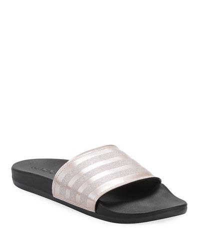 02770f2e994369 Silver Rubber Sandal