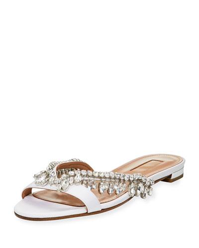 Gem Palace Flat Slide Sandal