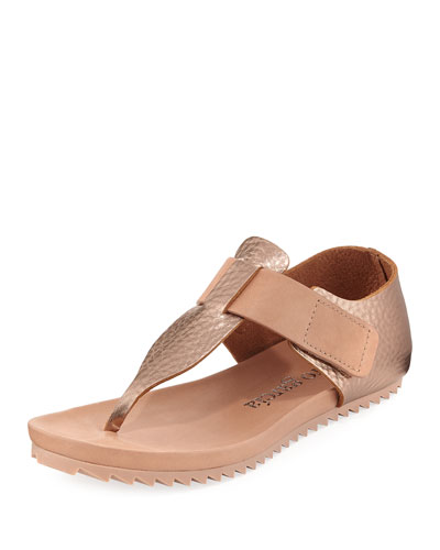 Jacqui Metallic Grip Sandal
