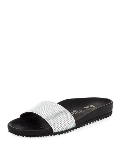 Alice Disco Slide Pool Sandal