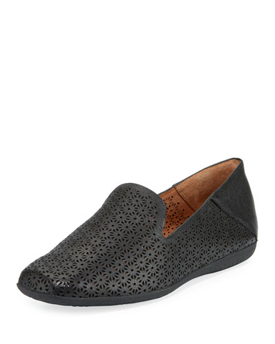 Erin Perforated Smoking Slipper