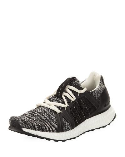 Ultra Boost Parley Knit Trainer Sneaker, Black