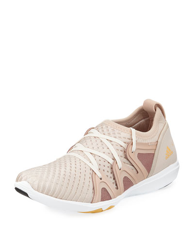 CrazyMove Pro Mid-Top Fabric Trainer Sneaker, Rose