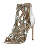 Iridessa Crystal Sandal Bootie