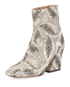Brocade Cap-Toe 80mm Bootie