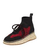 Dakota Knit High-Top Sneaker