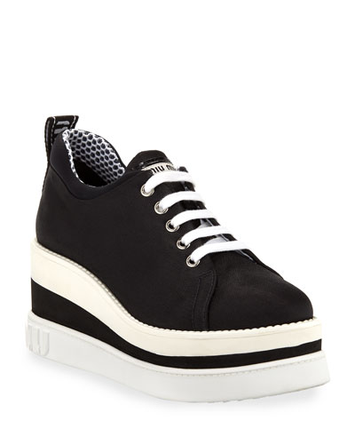 9ba0c9e1e9cb8 Mesh Platform Sneakers