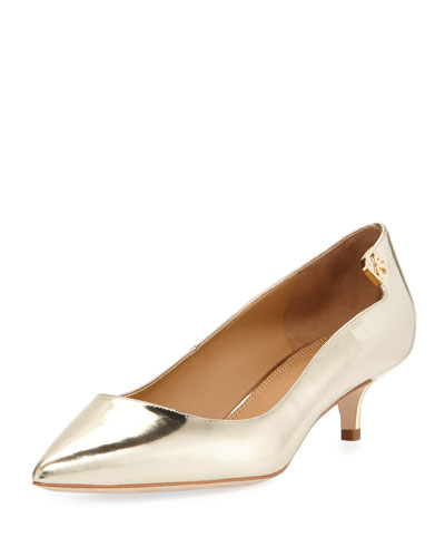 Elizabeth Leather 85mm Pump