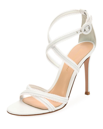 Bra Strap Napa Leather Sandal