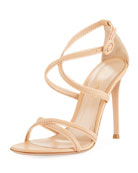 Bra Strap Lamb Leather Sandal
