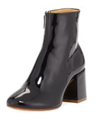 Patent Leather 85mm Bootie