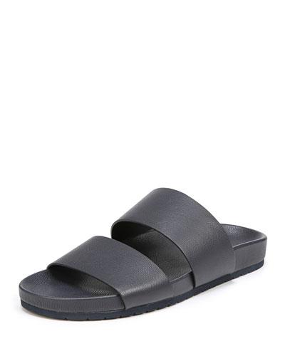 Georgie Leather Pool Sandal