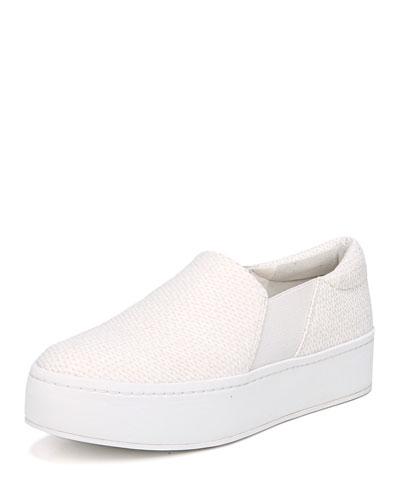 Warren Woven Platform Sneaker