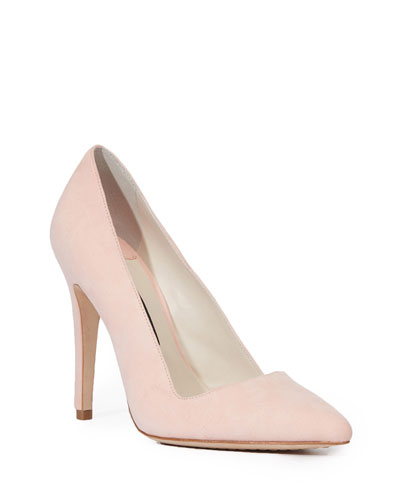 Dina Suede 95mm Pump