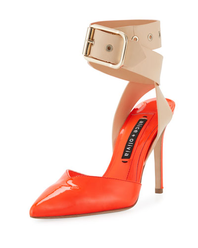 Rachelle Patent Two-Tone Pump