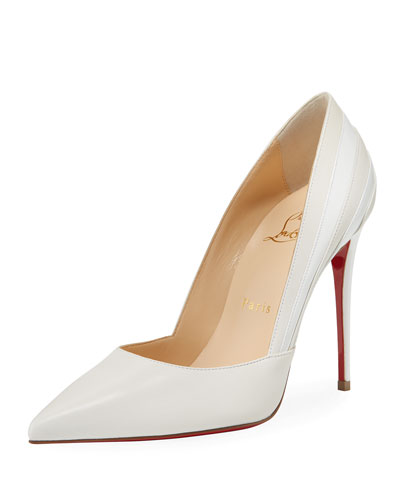 Super Point-Toe Red Sole Pumps