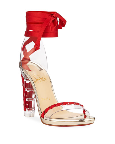 87037cef02b Ankle Strap Red Sole Shoes