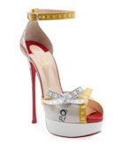 Christian Louboutin Metricathy Measuring Tape Red Sole Pumps