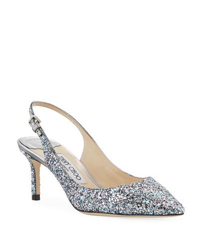 b2a9003a06b5 Jimmy Choo Glitter Shoe