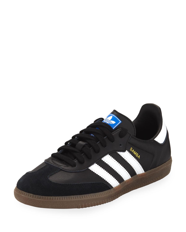 Adidas Originals Samba Original Leather Suede Sneakers 944fdef3b