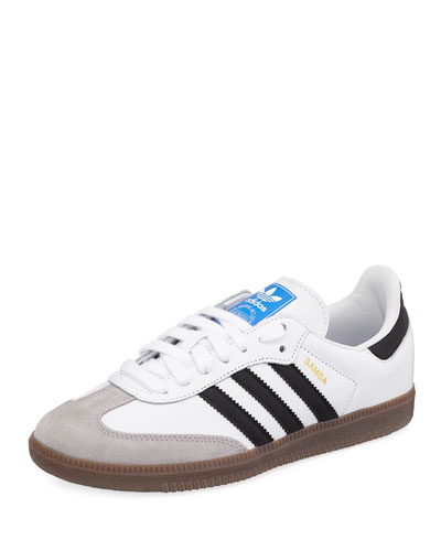8cd5bc4ac2 Quick Look. Adidas · Samba Original Leather Suede Sneakers