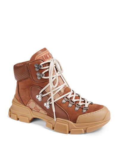 GG Fabric Hiker Boot