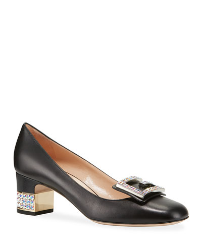 Madelyn 55mm Leather Pump