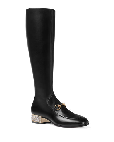 Mister Over-The-Knee Leather Boot