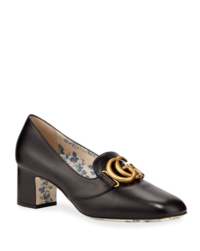 Victoire 55mm Leather Loafer