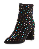 Betty Multicolor Stud Bootie